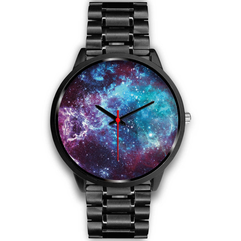 Starfield Nebula Galaxy Space Print Black Watch GearFrost