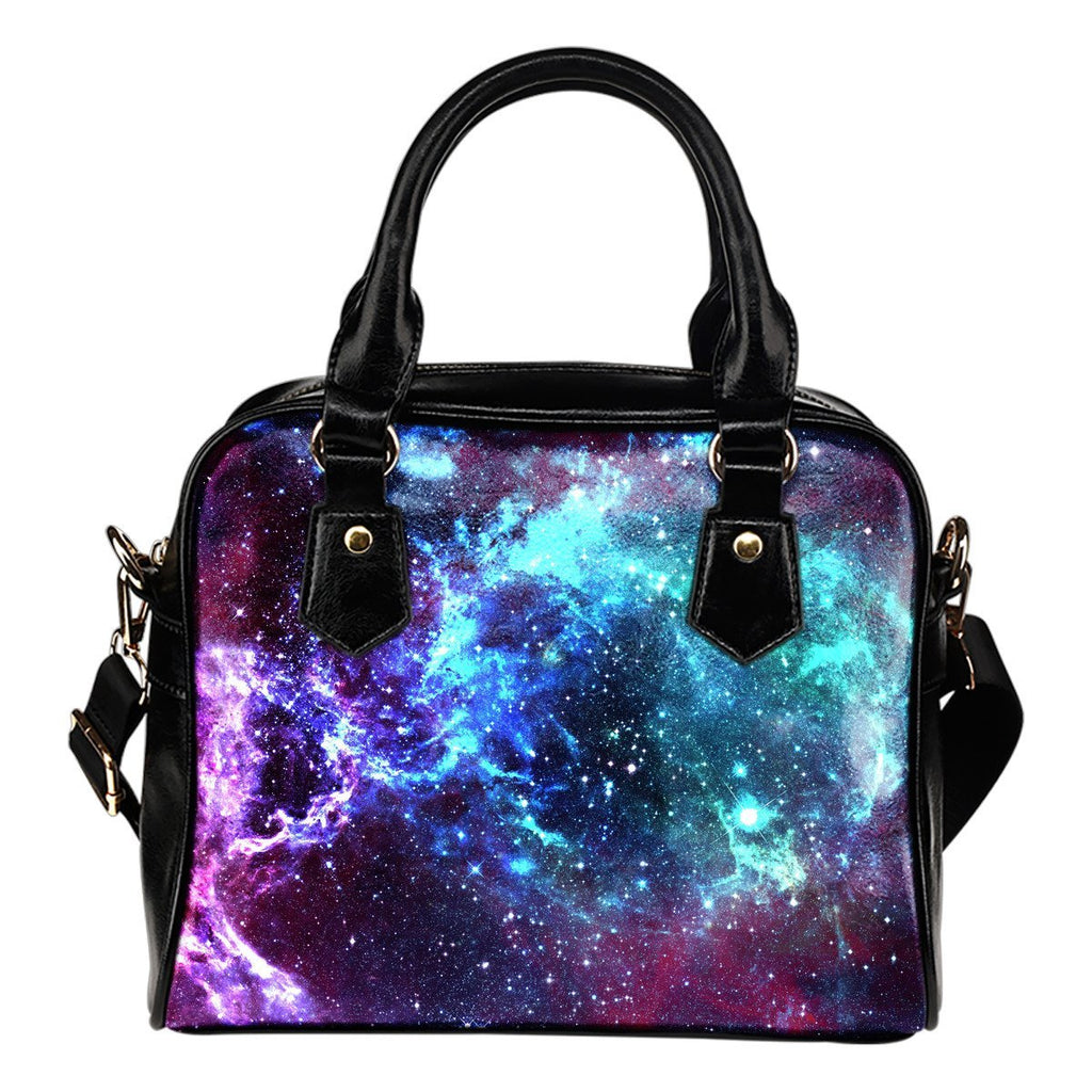 Starfield Nebula Galaxy Space Print Shoulder Handbag GearFrost
