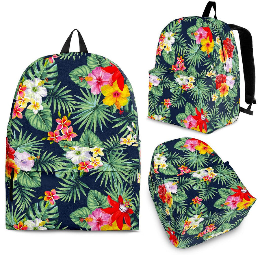 Summer Tropical Hawaii Pattern Print Backpack GearFrost