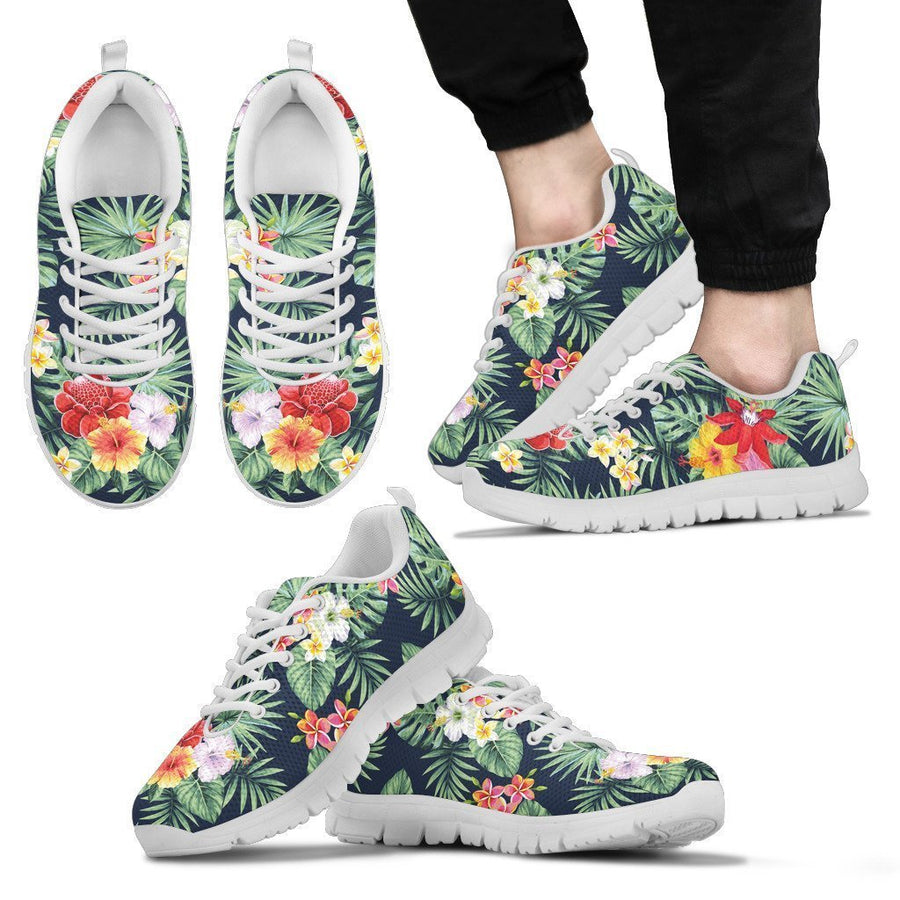 Summer Tropical Hawaii Pattern Print Men's Sneakers GearFrost
