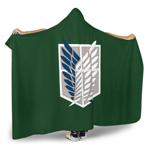 Survey Corps Hooded Blanket GearFrost