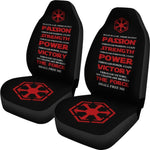 The Sith Code Universal Fit Car Seat Covers GearFrost