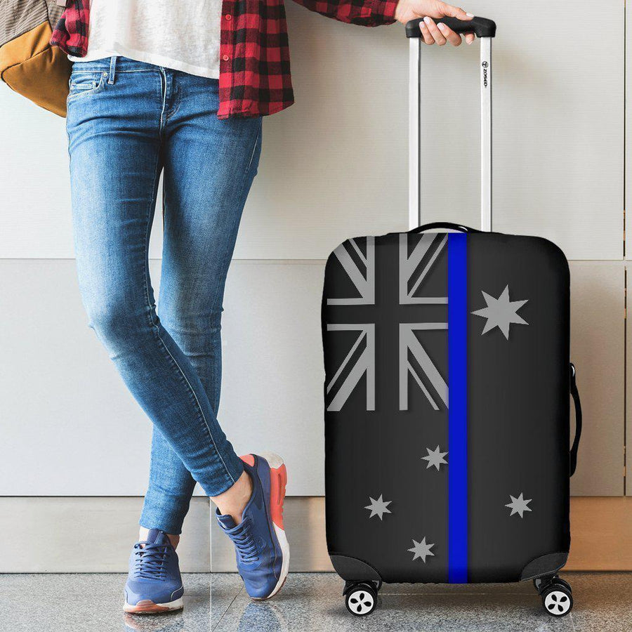 Thin Blue Line Australia Luggage Cover GearFrost