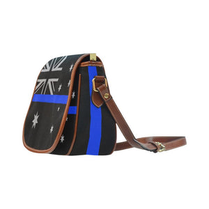 Thin Blue Line Australia Saddle Bag Crossbody Purse GearFrost