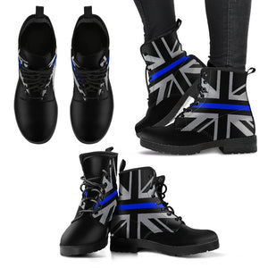 Thin Blue Line Union Jack Women's Boots GearFrost