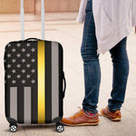 Thin Gold Line Luggage Cover GearFrost