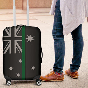 Thin Green Line Australia Luggage Cover GearFrost