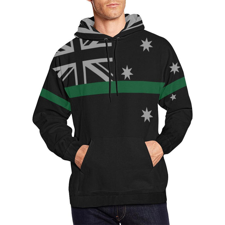 Thin Green Line Australia Men's Pullover Hoodie GearFrost