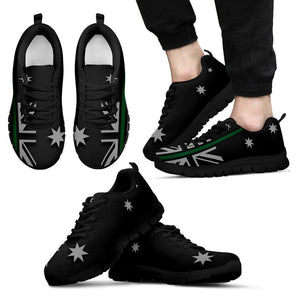 Thin Green Line Australia Men's Sneakers GearFrost