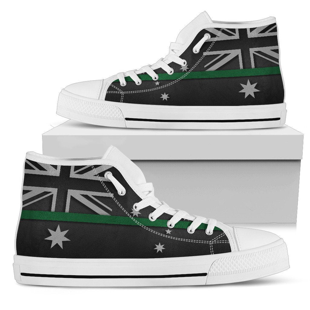Thin Green Line Australia Women's High Top Shoes GearFrost