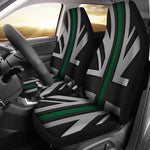 Thin Green Line Union Jack Universal Fit Car Seat Covers GearFrost