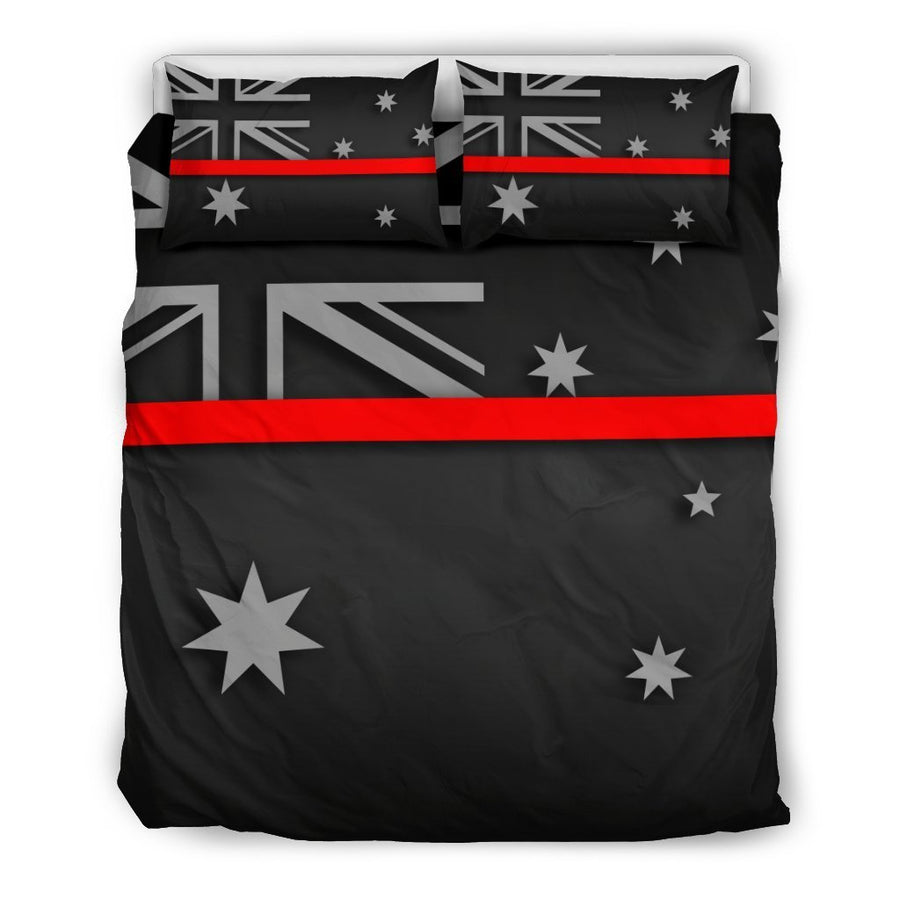 Thin Red Line Australia Duvet Cover Bedding Set GearFrost