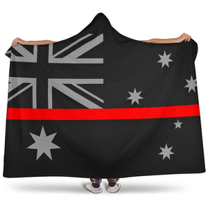 Thin Red Line Australia Hooded Blanket GearFrost