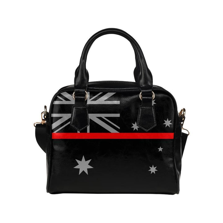 Thin Red Line Australia Leather Shoulder Handbag GearFrost