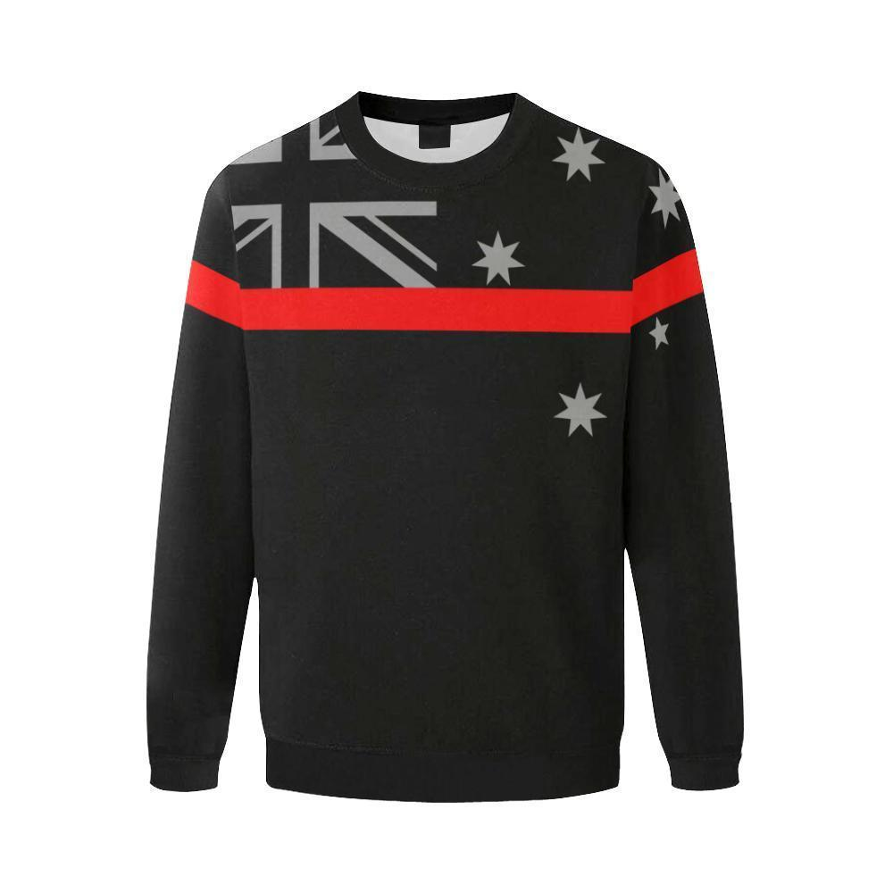Thin Red Line Australia Men's Crewneck Sweatshirt GearFrost
