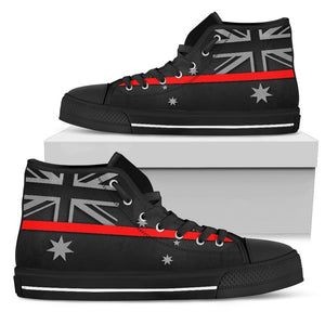 Thin Red Line Australia Men's High Top Shoes GearFrost