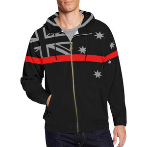 Thin Red Line Australia Men's Zip Up Hoodie GearFrost