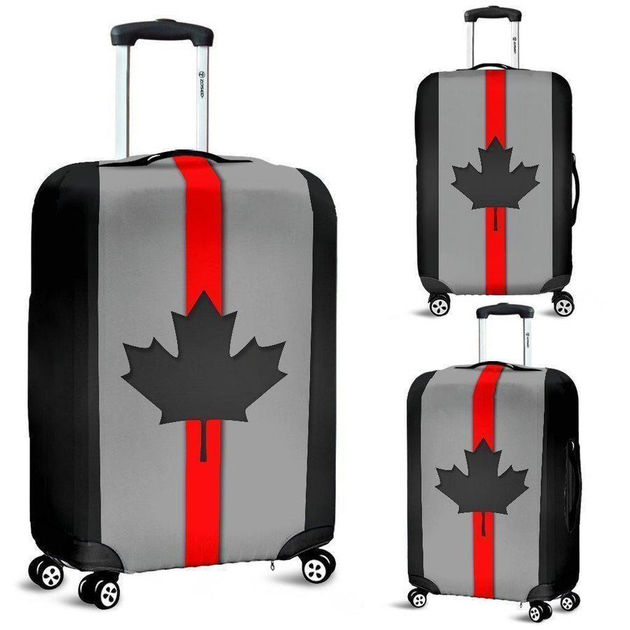Thin Red Line Canada Luggage Cover GearFrost
