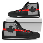 Thin Red Line Canada Men's High Top Shoes GearFrost
