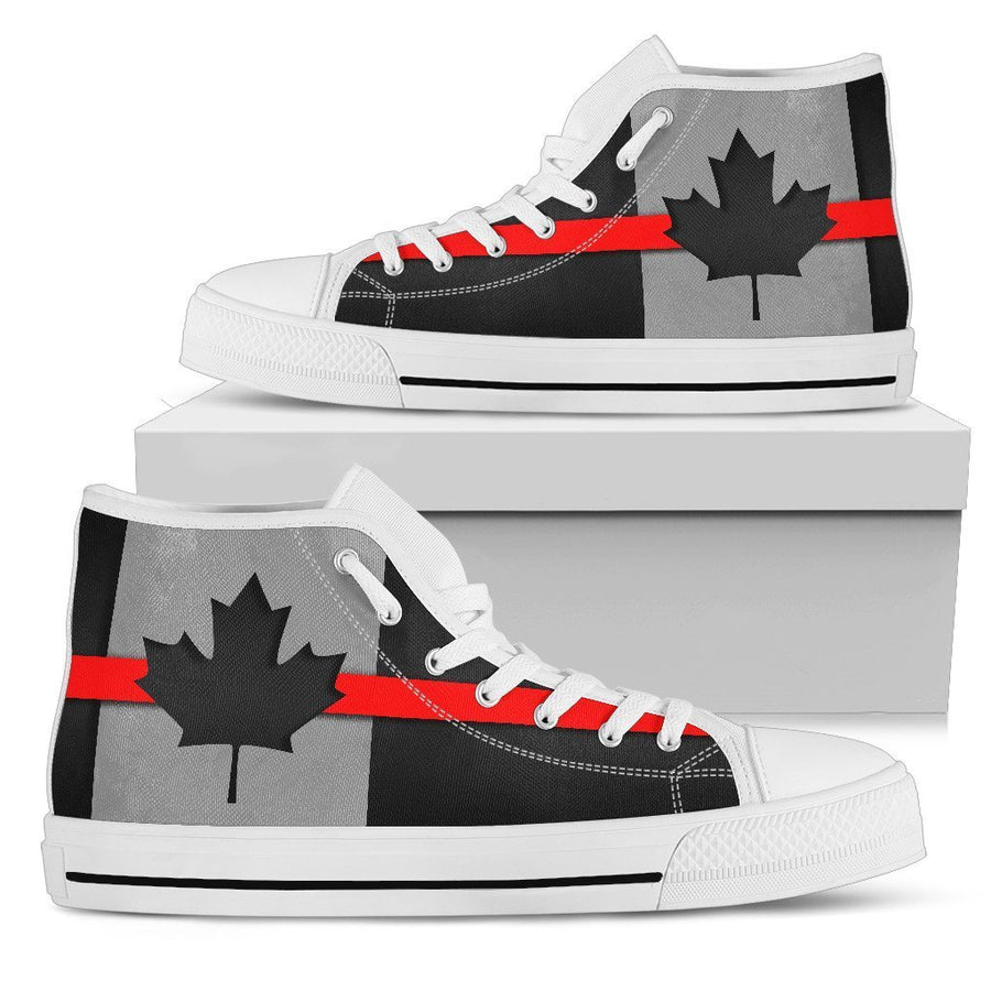Thin Red Line Canada Women's High Top Shoes GearFrost