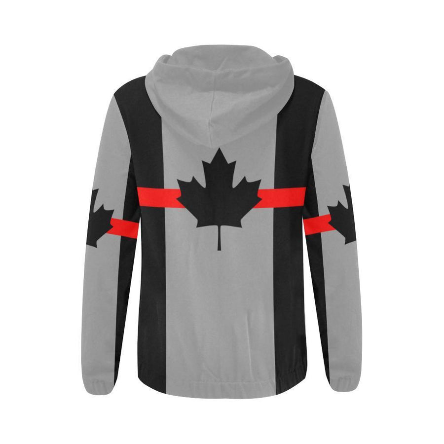 Thin Red Line Canada Women's Zip Up Hoodie GearFrost