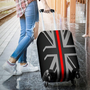 Thin Red Line Union Jack Luggage Cover GearFrost