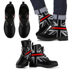 Thin Red Line Union Jack Men's Boots GearFrost