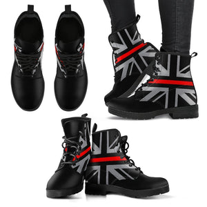 Thin Red Line Union Jack Women's Boots GearFrost