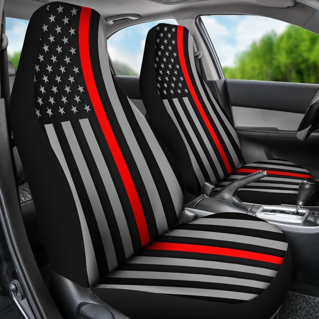 Thin Red Line Universal Fit Car Seat Covers GearFrost
