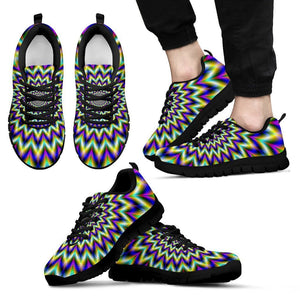 Twinkle Psychedelic Optical Illusion Men's Sneakers GearFrost