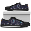 Universe Galaxy Outer Space Print Men's Low Top Shoes GearFrost