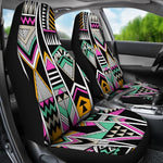 Vintage Tribal Aztec Pattern Print Universal Fit Car Seat Covers GearFrost