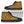 Yellow Brown Giraffe Pattern Print Men's High Top Shoes GearFrost