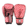 Zombie Brain Print Boxing Gloves