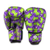 Zombie Foot Pattern Print Boxing Gloves