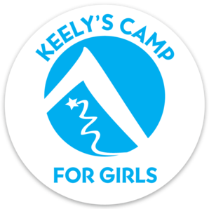 Keely's Camp Logo Sticker