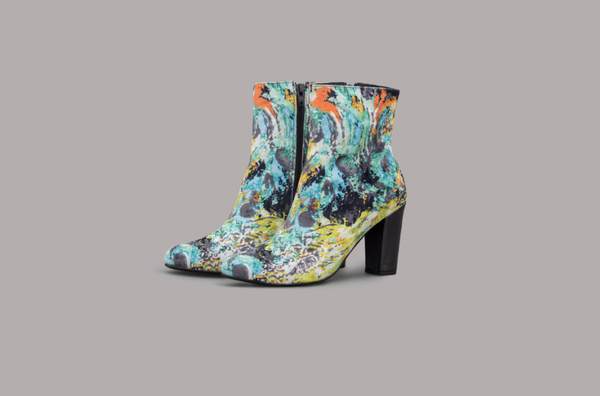 BUTTERFLY EFFECT BOOTS (PEACOCK)