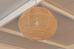 RAFFIA PENDANT LIGHTING