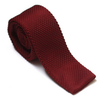 Red Berry Knit - Ties