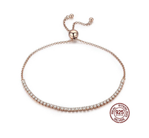 925 Sterling Silver Lace-Up Bracelet