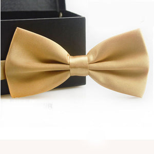 Champagne Gold Bow Tie - Bow Ties