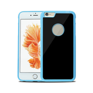 Magical Nano Suction Anti Gravity Iphone Case - Blue / For Iphone 6 6S - Phone Cases