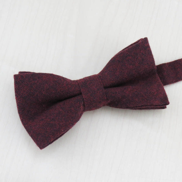 Red Wine Bow Tie - Dapper Boulevard