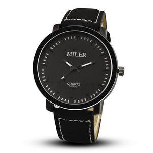 Miler Military Sport Watch - Black - Watches