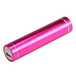 Battery Charger For Mobile Devices - 4 Colours - Pink