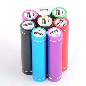 Battery Charger For Mobile Devices - 4 Colours - Purple