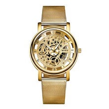 Soxy Skeleton Watch - Unisex - Gold - Watches