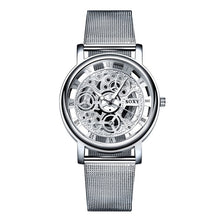 Soxy Skeleton Watch - Unisex - Silver - Watches