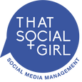 #thatsocialgirl social media management. digital content management. hire a social media manager.
