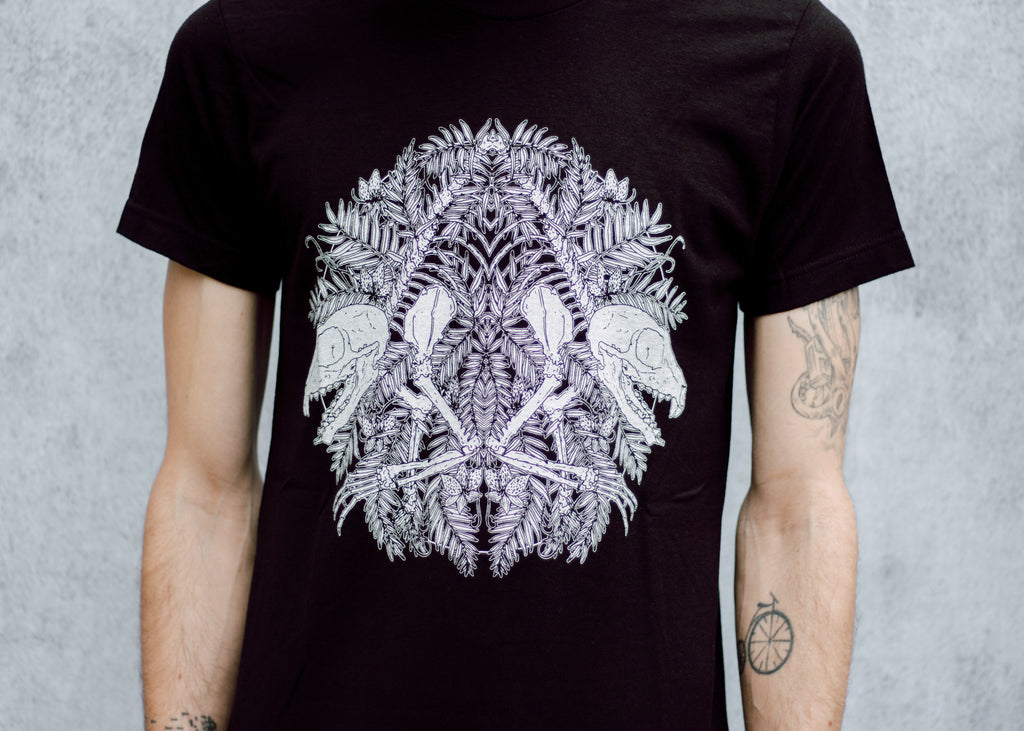 Lemur Skeleton and Tamarind T-Shirt